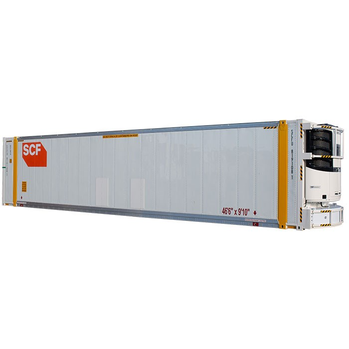 SCF 46ft Reefer | Angle