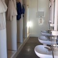 SCF Shower Block with basins and individual shower cubicles