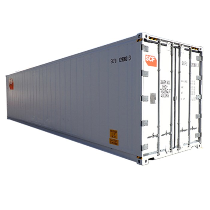 SCF 41ft Reefer | Angle Door End