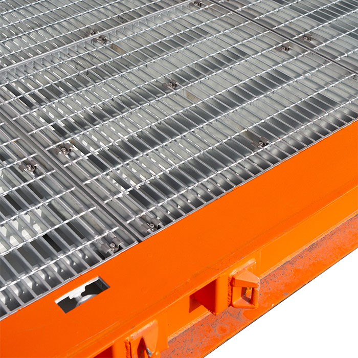 SCF 20ft Double Side Door Dangerous Goods Container | Galvanised Flooring