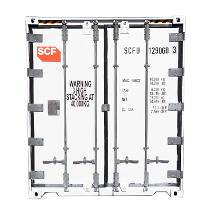SCF 41ft Reefer | Door End