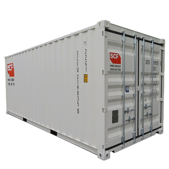 SCF 20ft Shipping Container | Angle