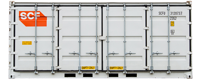 20ft Side Door Shipping Container - Plenty of side access