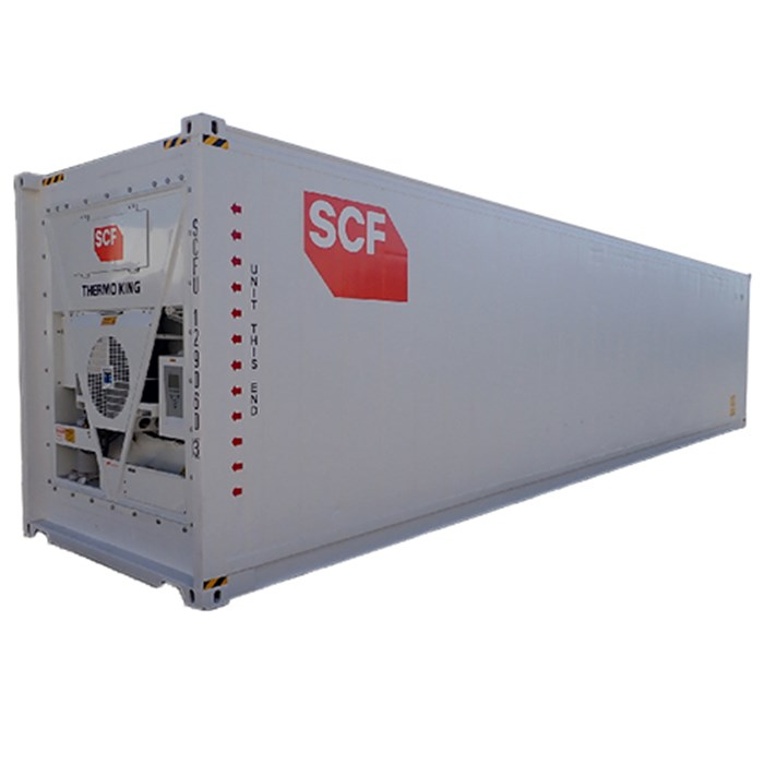 SCF 41ft Reefer | Angle