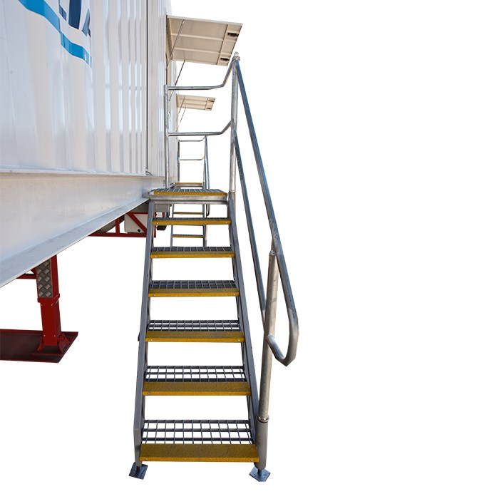 SCF Trailerised Accommodation | External Stairs