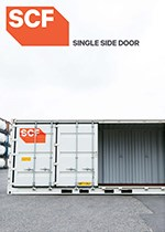 20ft Single Side Door Container