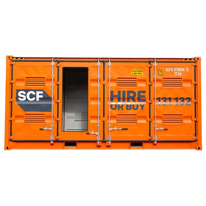 SCF 20ft Double Side Door Dangerous Goods Container | Emergency Exit