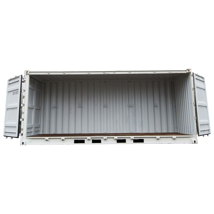 SCF 20ft Single Side Door Shipping Container | Side Doors Open