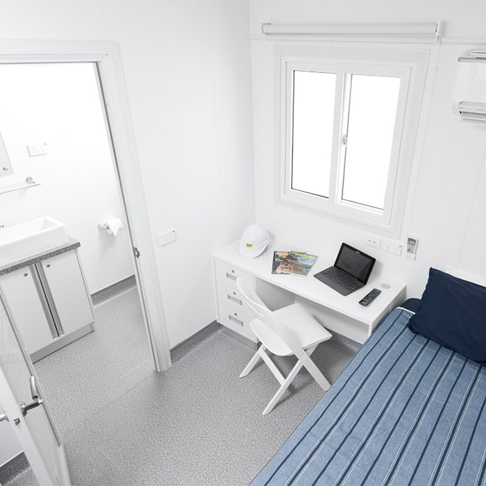 SCF Containerised Accommodation | Bedroom