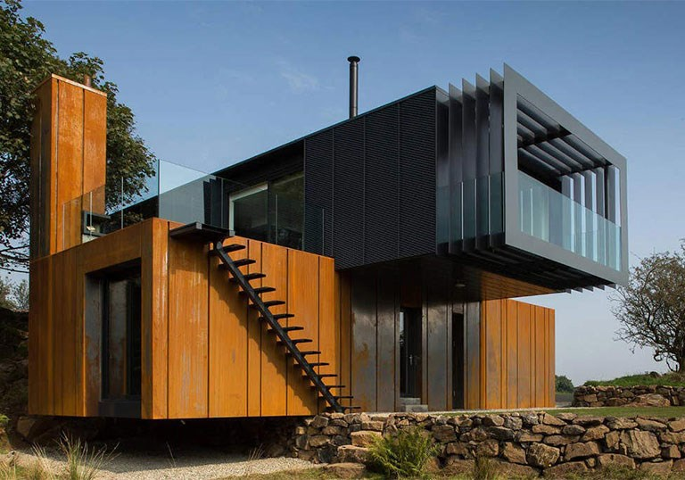 SCF Container Solutions - Shipping Container Homes - Pros & Cons