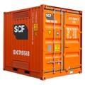 SCF 10ft Dangerous Goods Container | Angle