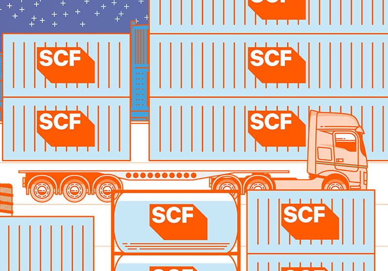 SCF Container Solutions - Skel Trailers - Increase your fleet utilisation and flexibility