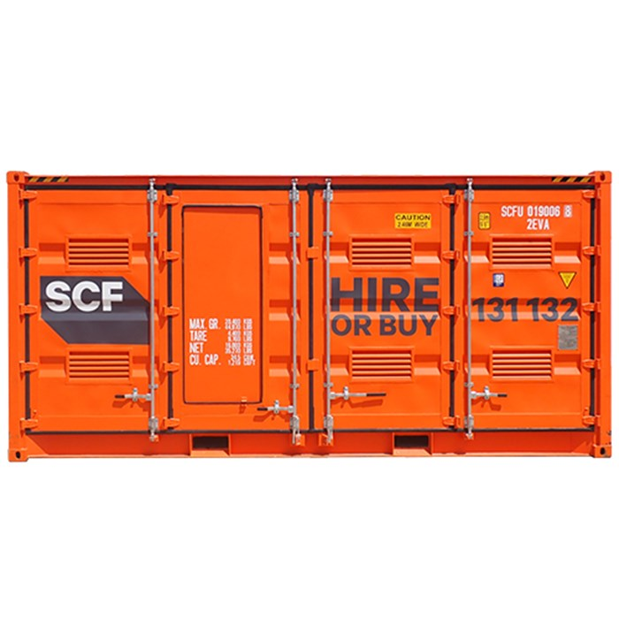20ft Dangerous Goods Double Side Door - SCF