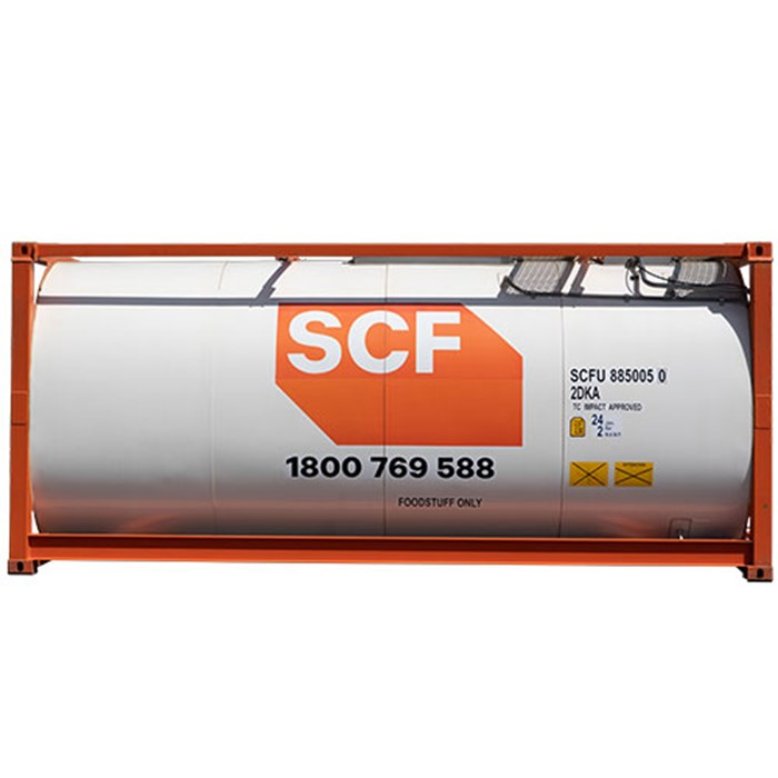 SCF Food Grade CIP ISO Tank Side